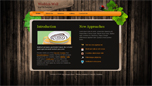 Woodenwall  Css3Template Downloads: 29695