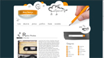 Blog Design  Css3Template Downloads: 40543