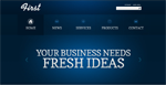 First Business  Css3Template