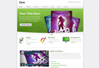 Curvee  Css3Template