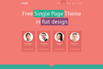 Simplex  Css3Template Downloads: 1185
