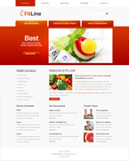 Fit Line  Css3Template Downloads: 528