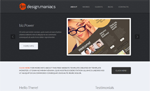 Design Maniacs  Css3Template Downloads: 352