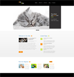Pet Shop  Css3Template Downloads: 70